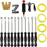 11 PCS Carburetor Adjustment Tool Carb Adjusting Kit with ZT-1 500-13 Metering Lever Tool for 2-Cycle Small Engine Poulan Husqvarna STIHL Echo Trimmer Weedeater Chainsaw