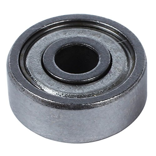 SODIAL (R) 4 mm x 13mm x 5mm einreihig Shielded Rillenkugellager 10 Stueck