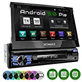 XOMAX XM-DA708 Autoradio mit Android 9.0, QuadCore, 2GB RAM, 32 GB ROM, GPS Navigation, DVD, CD I Support: WiFi WLAN, 3G 4G, DAB+, OBD2 I Bluetooth, 7 Zoll / 18 cm Touchscreen, USB, SD, AUX,...