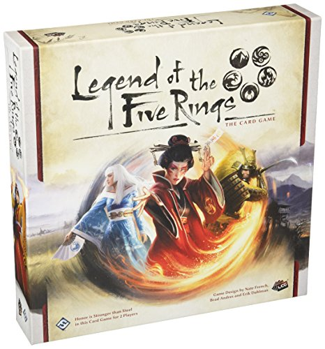Fantasy Flight Games ffgl5C01Leyenda de los Cinco Anillos Juego de Cartas