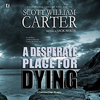 A Desperate Place for Dying audiobook cover art
