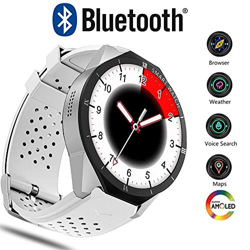 Lowest Prices! GKCD 3G Smart Watch, Bluetooth 4.0GPS Device Heart Rate Monitoring Fitness Tracker, 2...