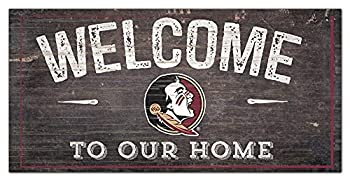 Florida State 12  x 6  Distressed Welcome to Our Home Wood Sign