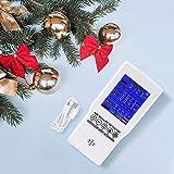 InLoveArts Monitoraggio della qualità dell'aria Tester accurato per CO2 Formaldeide (HCHO) TVOC PM2.5 / PM10 Rilevatore d'aria multifunzionale per varie occasioni