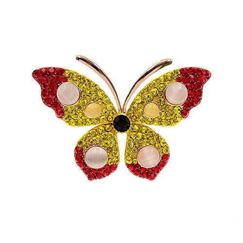 GLKHM Brooches & Pins Butterfly Brooches Women Pin Brooch Insect Fashion Accessories