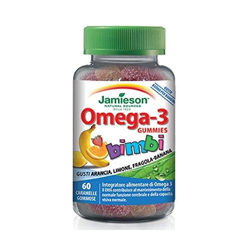 Jamieson 12938 Omega-3 Gummies 60 Caramelle - 150 Gr