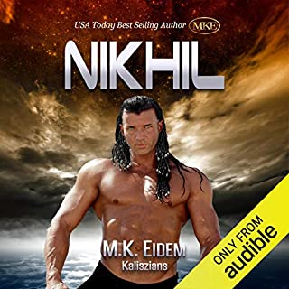 Nikhil     Kaliszian, Book 1              By:                                                                                                                                 M.K. Eidem                               Narrated by:                                                                                                                                 Ian Gordon,                                                                                        Jennifer Gill,                                                                                        Griffin Murphy,                   and others                 Length: 8 hrs and 9 mins     58 ratings     Overall 4.6