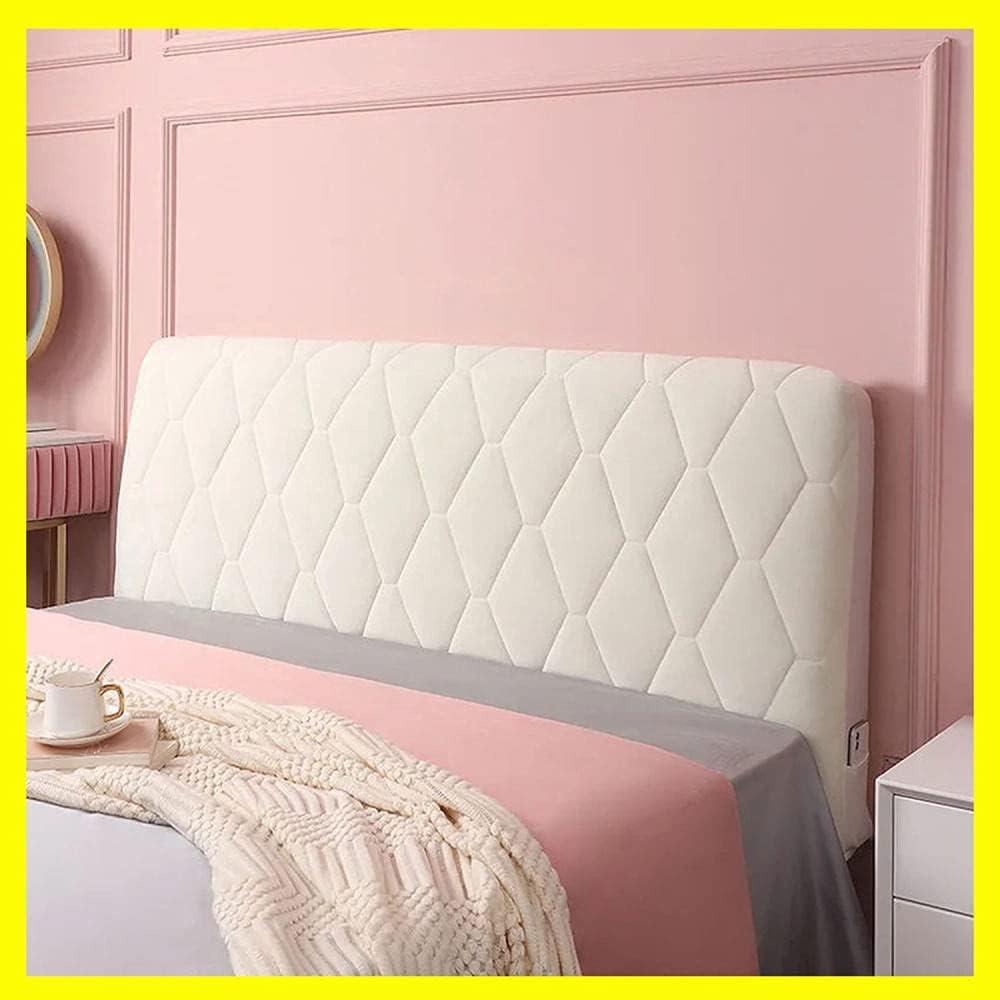 Bed Headboard Cover Velvet Stretch Thicken B Outlet SALE Popular standard Slipcover