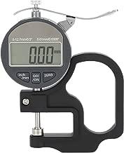 Calibro di spessore digitale per strumento di misurazione filo filo di cuoio di carta 0-12.7mm Intervallo di misurazione 0.01mm Precisione