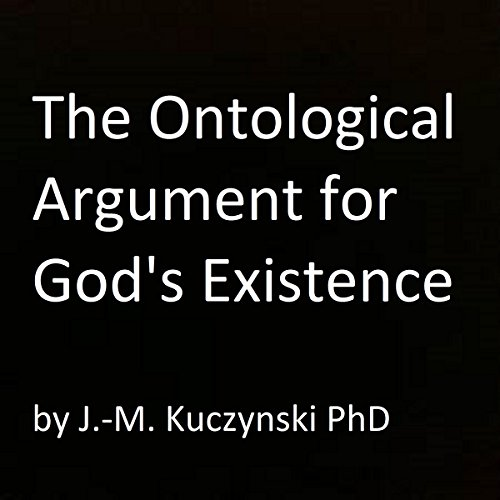 The Ontological Argument for God's Existence audiobook cover art
