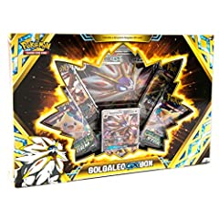 1 never-before-seen foil promo card featuring Solgaleo-Gx 1 oversize foil card of Solgaleo-Gx 4 Pokémon TCG booster packs (each sun & Moon Series pack contains 10 cards and 1 basic energy. Each XY series pack contains 10 cards. ) A code card for the ...