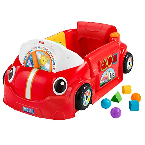 Fisher-Price Laugh & Learn Crawl Around Car Activity Center [Amazon Exclusive]