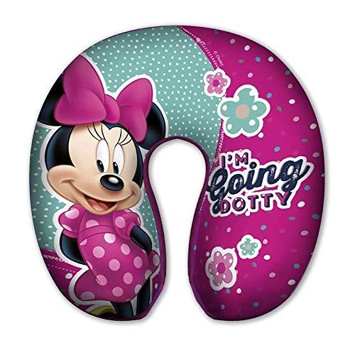 CUSCINO DA Viaggio Minnie Mouse Disney in Poliestere CM. 30 x CM. 30 x H. CM. 8 - 59653