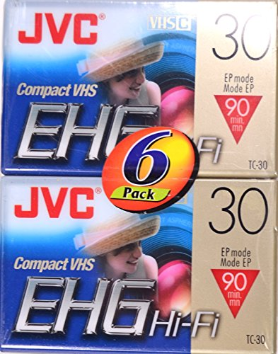 Great Features Of JVC VHS-C Tape (TC30EHGDU6) (TC30EHGDU6)