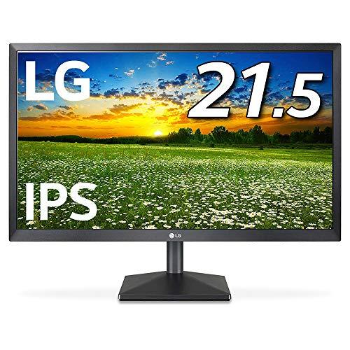 LG モニター ディスプレイ 22MK430H-B 21.5インチ/フルHD/IPS 非光沢/HDMI端子付/ブルーライト低減機能/Fre...