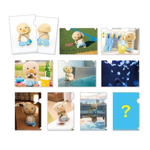 東京トガリ トレーディング ちちゃいクリアファイル & ポストカード コンプリートBOX BOX商品 1BOX=10個入り、全10種類(内 シークレット1種)