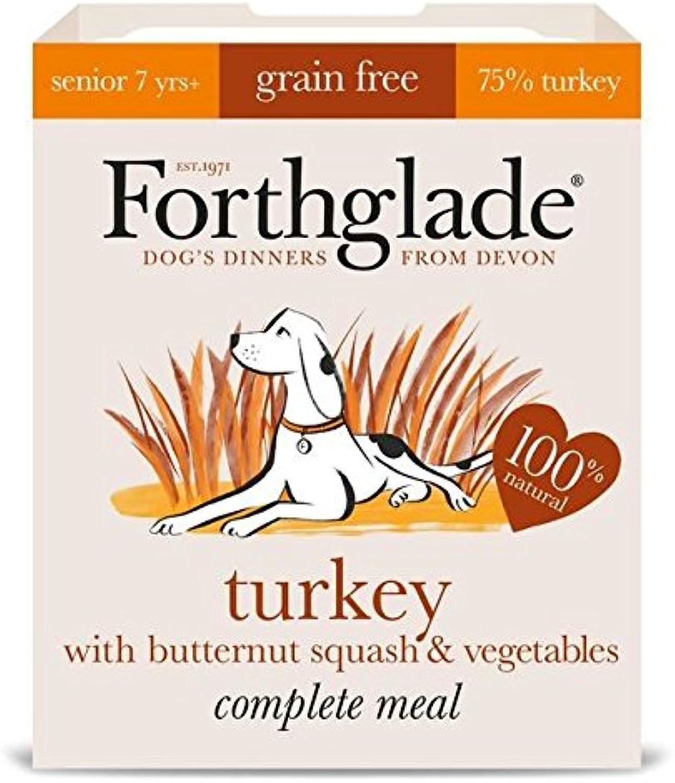 Forthglade Complete Senior Turkey with Butternut Squash & Veg GRAIN FREE 7 x 395g (PACK OF 6)