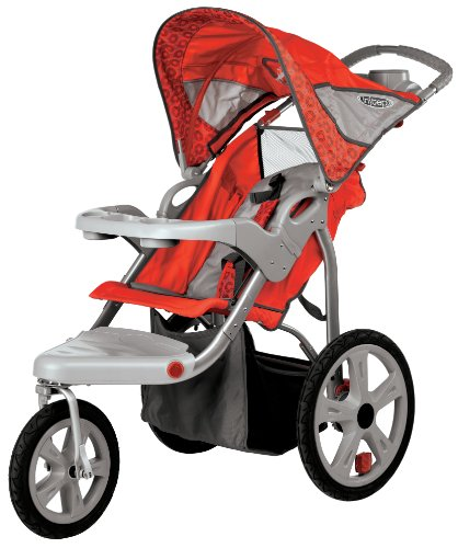 InStep Safari Single Swivel Stroller review