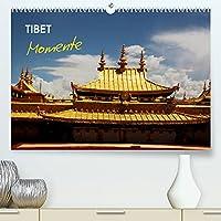 Tibet Momente (Premium, hochwertiger DIN A2 Wandkalender 2022, Kunstdruck in Hochglanz): Momente einer Reise nach Tibet. Traumhafte Landschaften und eine alter, gelebter Buddhismus. (Geburtstagskalender, 14 Seiten )
