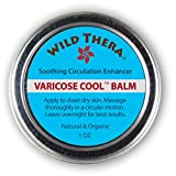 Wild Thera Herbal Varicose Veins Cream and Treatment with Arnica and Horse Chestnut. for Spider Veins, Leg Edema and Nerve Pain. Co-Therapy for Healing Patch and Vein Socks.