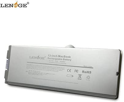 LENOGE A1185 Ersatz Laptop Akku f r Apple MacBook 13 A1181 2006 bis mid 2009 ersetzt MA566 MA566FE A MA566G A MA566J A MA561 MA561FE A MA561G A MA561J A MA561LL A 10 8V 5600mAh Silber Schätzpreis : 46,99 €