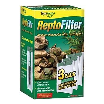 Tetra ReptoFilter Cartridges - Medium 3 pack green  25845