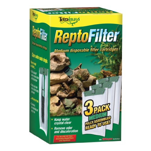 Tetra ReptoFilter Cartridges - Medium 3 pack, green (25845)