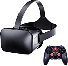 Peyan VR Headset with Remote Controller Virtual Reality Headset 3D Glasses, Anti-Blue-Light Lenses, Stereo Headset, for Al...