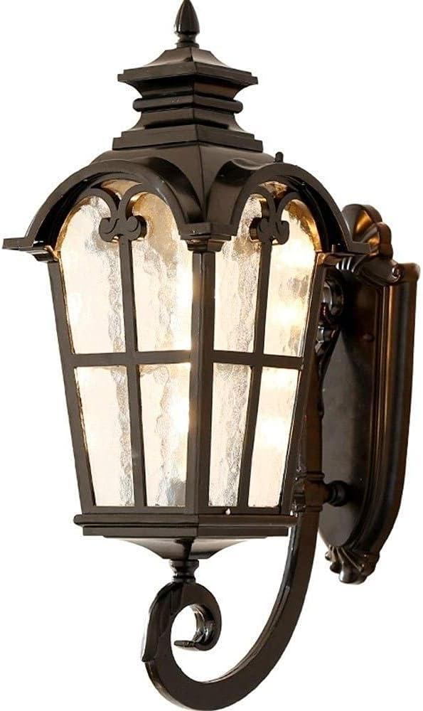 WLJBD Garden Lights, Outdoor Wall Waterpro Ranking TOP5 Retro Glass Time sale Lantern