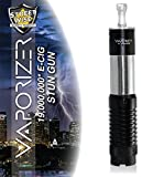 Diamondback Streetwise Vape Stun Gun Looks Like a Vaporizer Electronic Cigarette but it is not. It has a Built in Flashlight 19 Million Rechargeable with Free Survival Whistle (Black)