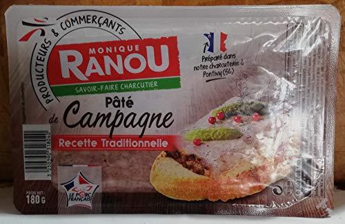 Original französische Pastete - de CAMPAGNE traditionelle- 2 x188gr