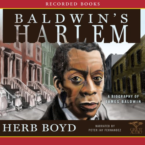 Baldwin's Harlem audiobook cover art