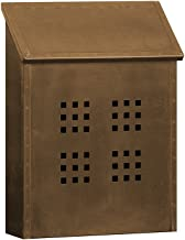 Salsbury Industries 4425 Antique Brass Mailbox Decorative Surface Mounted Vertical Style