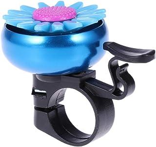 WINOMO 1 peça de anel de bicicleta em formato de girassol infantil para bicicleta, bicicleta, sino, guidão, anel de sino, ...