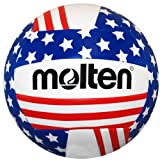Molten Stars and Stripes Recreational Volleyball, Red/White/Blue