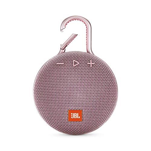 JBL CLIP 3 - Waterproof Portable Bluetooth Speaker  - Pink