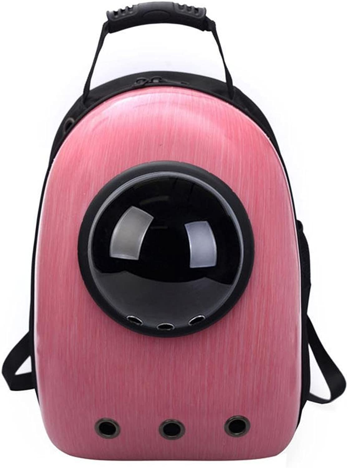 Aoligei Pet Backpack Out Portable cat Dog with pet Space Bag 32  29  42cm Food pc+ Nylon