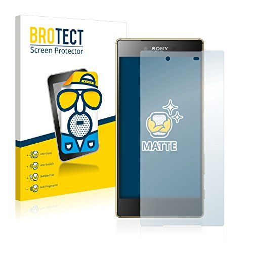 BROTECT 2X Entspiegelungs-Schutzfolie kompatibel mit Sony Xperia Z5 Premium Bildschirmschutz-Folie Matt, Anti-Reflex, Anti-Fingerprint