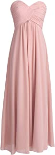 Best strapless blush bridesmaid dress Reviews