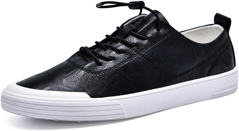 EGS-schuhe Schnüren Sie Sich Oben Art-Mikrofaser-Leder-weiche runde Kappe-einfache Reine Reine Farben-Leichter Mode-Turnschuh für Mann-Sportschuhe,Grille Schuhe (Farbe   Schwarz, Größe   42 EU)  günstig neu kaufen