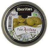 Iberitos - Paté de Aceituna Verde - 10 Latas x 140 gr