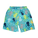 i play. by green sprouts Clothing, Shoes & Jewelry Baby Boys Swim Trunks, Aqua Octopus, 12mo