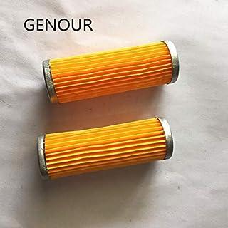 ZTH 10pcs Papel de Filtro de Combustible for 186F 5kw-7kw silencioso Tipo Motor Diesel y Piezas del generador, reemplazo del Filtro de Aceite