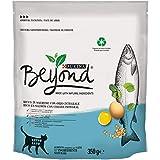 Beyond - Pienso de Gato Rico en salmón con Cebada Integral, 8 Bolsas de 350 g
