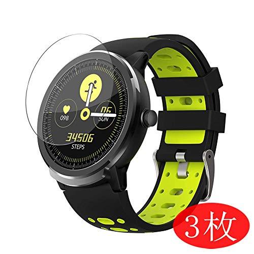 VacFun 3 Pezzi Trasparente Pellicola Protettiva per BingoFit S10 PRO 1.3' Smartwatch Smart Watch, Screen Protector Protective Film Senza Bolle e Auto-Curativo (Non Vetro Temperato) Protezioni Schermo