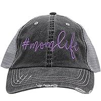 BHW Mom Life #Momlife # Momlife Glittering Trucker Style Baseball Cap Hat