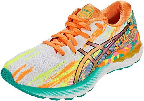 Asics Gel-Nimbus 23, Road Running Shoe Mujer, Rose Puissant Jaune, 39.5 EU