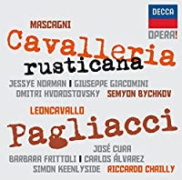Opera! Mascagni: Cavalleria Rusticana & Pagliacci by Jessye Norman (2011-07-12)