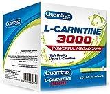 Quamtrax L-Carnitine 3000 Sabor Yogurt - 20 viales x 25ml