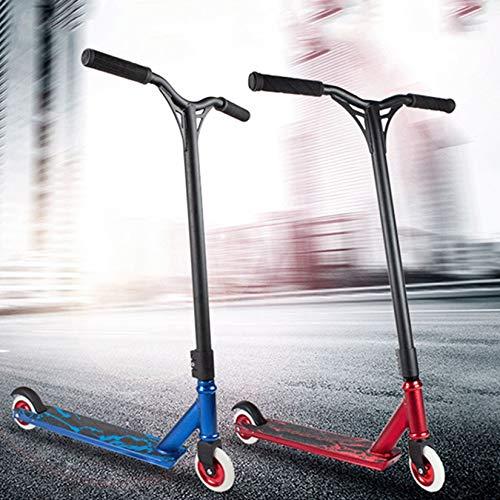 WYJJ Pro Scooter - Street Trick Stunt Scooter 360 Giratorio, Rueda de Poliuretano con núcleo de Aluminio, 3 Abrazaderas de Aluminio triples